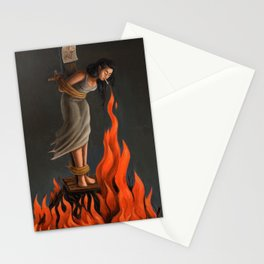 Keep Cool Oil Painting Stationery Cards