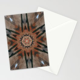 Bushfire Gum Medallion 5 Stationery Cards