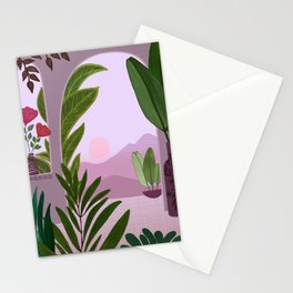 Tropical Morning Stationery Cards