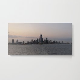 View of Colgate Center from New York Harbor Metal Print