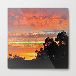 amazing sunset Metal Print
