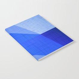 Lapis Lazuli Shapes - Cobalt Blue Abstract Notebook
