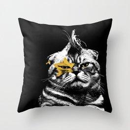 Menace to Society Throw Pillow