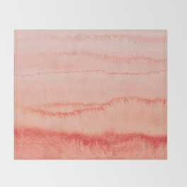 WITHIN THE TIDES - LIVING CORAL Throw Blanket