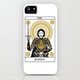 Justice iPhone Case
