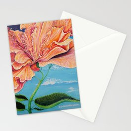 Heavenly Hibiscus Stationery Cards