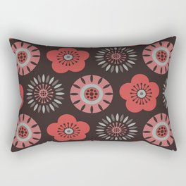MCM Flower Power Rectangular Pillow