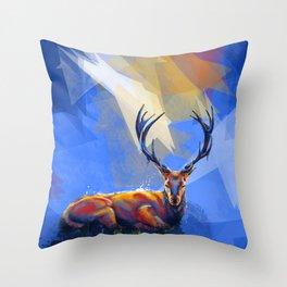 Meadow Trance Throw Pillow