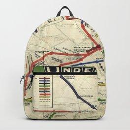 London Underground 1908 Backpack