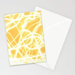 Light Painting of the Moon Stationery Cards