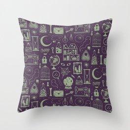 Haunted Attic: Phantom Throw Pillow