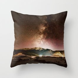 Prospect Milky Way Throw Pillow
