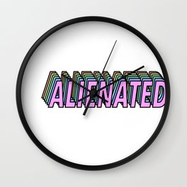 Alienated Wall Clock