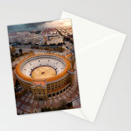 Spain's Bullfighting Ring Stationery Cards