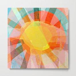 Sunbeams Metal Print