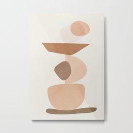 Balancing Elements II Metal Print