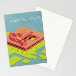 Villa Savoye and Le Corbusier Stationery Cards