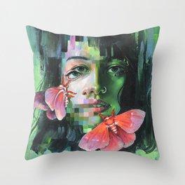 Chroma Key Throw Pillow