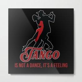 Tango, Dancer, Cuba Metal Print