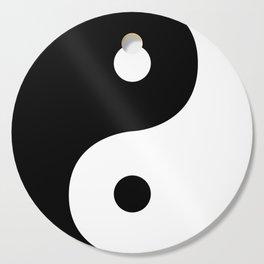 Yin And Yang Sides Cutting Board