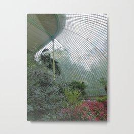 Glasshouse - Lednice Metal Print