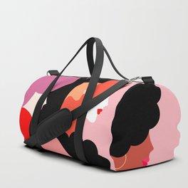 Girl Power we persist  #girlpower Duffle Bag