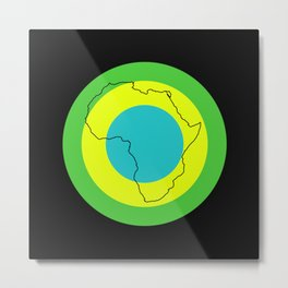 Tanzania II - Art In Support Of Kids 4 School Metal Print