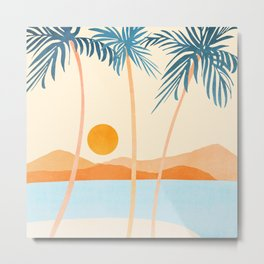 Baja California Coast Metal Print