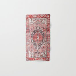 Vintage Anthropologie Farmhouse Traditional Boho Moroccan Style Texture Hand & Bath Towel