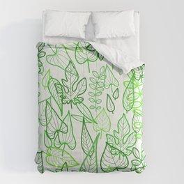 Leaves jungle Comforters