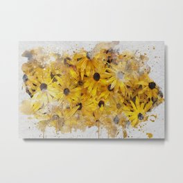 Black-eyed Susan Flowers Metal Print
