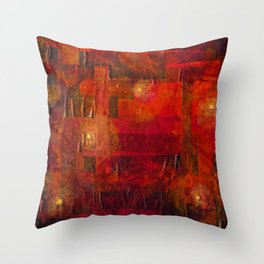 Imaginary Landscapes: Dancing in the Dark Throw Pillow