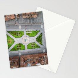 Plaza de armas in Cusco Peru Stationery Cards