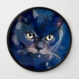 Cat 7 Wall Clock