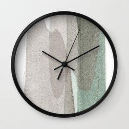 transparent 1 Wall Clock