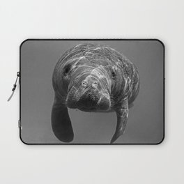 Little Manatee B&W Laptop Sleeve
