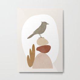 Cute Little Bird III Metal Print