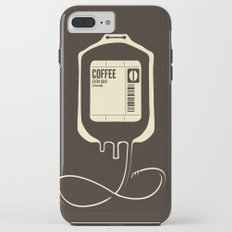 Coffee Transfusion iPhone 8 Plus Tough Case