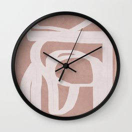 Abstract Flow IV Wall Clock