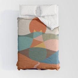 Cat Landscape 65 Comforters
