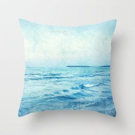Bulgaria 5 Black Sea #bulgaria #sunnybeach Throw Pillow