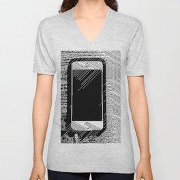 iPhone 5 Wolfram Rule 126 Unisex V-Neck