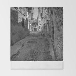 Caltabellotta Sicily Throw Blanket