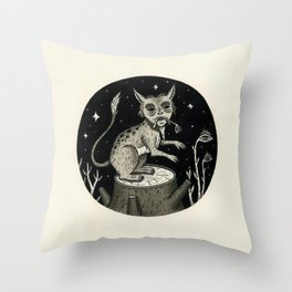 Caught Snacking Throw Pillow