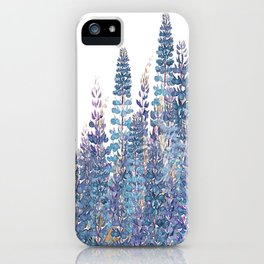 Lupine Love iPhone Case
