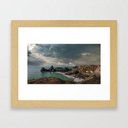 Kynance Cove, Cornwall Framed Art Print