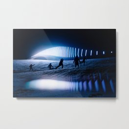 blinded by the lights Metal Print
