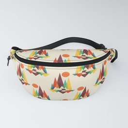 Bear In Whimsical Wild Fanny Pack
