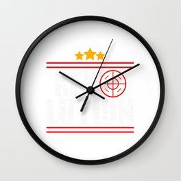 This is the awesome revolutionary Tshirt Those who make peaceful revolution Revolution Wall Clock