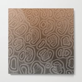 Earthenware Metal Print